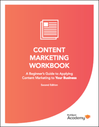 Content Marketing Workbook Image