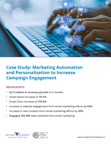 Email Engagement Case Study Image